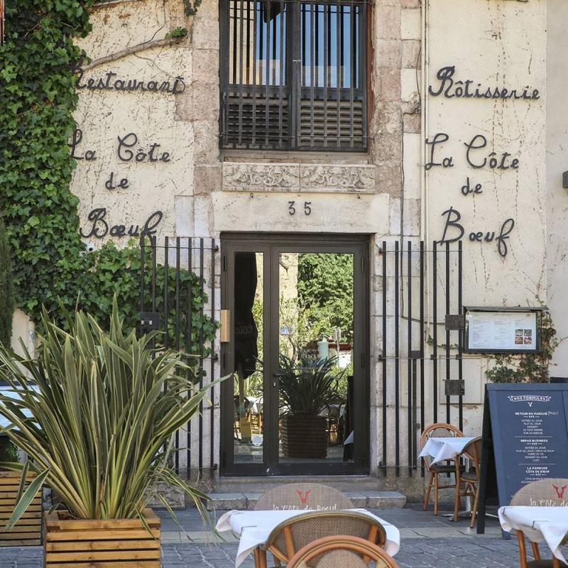 Adresse - Horaires - Téléphone - La Côte de Boeuf - Restaurant Marseille